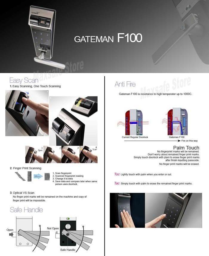 khóa vân tay Gateman F100