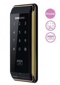 Khóa cửa thẻ từ Samsung không tay cầm  SHS D500