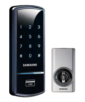 Khóa điện tử Samsung không tay nắm SHS 3420