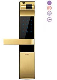 Khóa vân tay yale YDM 4109 -Gold