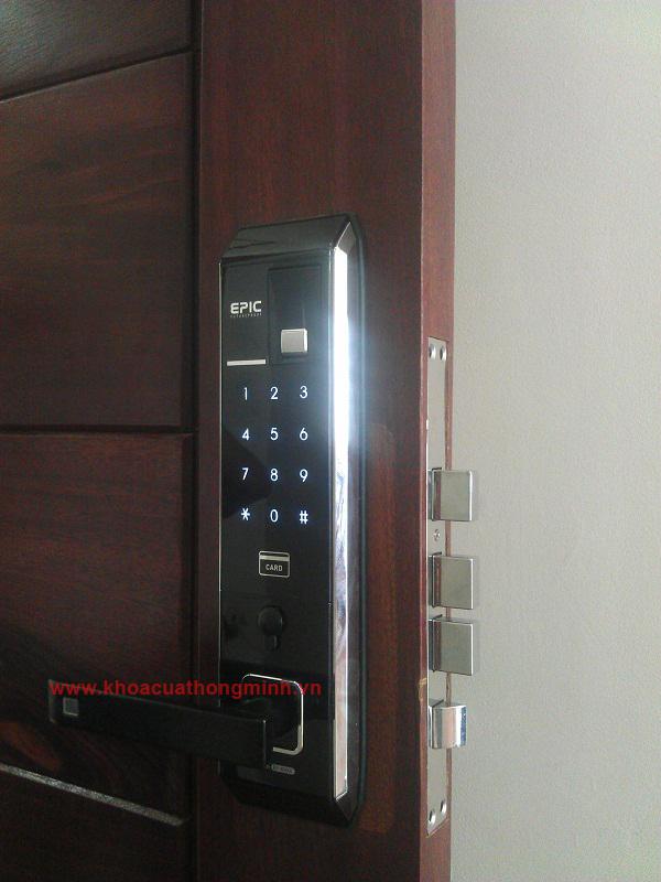 Lắp đặt khóa điện tử Epic 800L