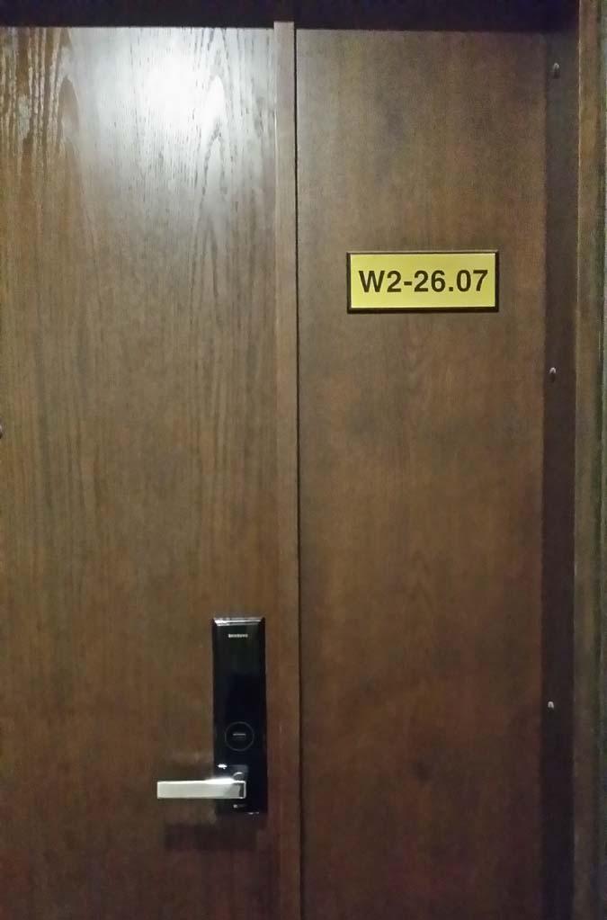Lắp đặt khóa điện tử Samsung  tại chung cư Sunrise City , Q7